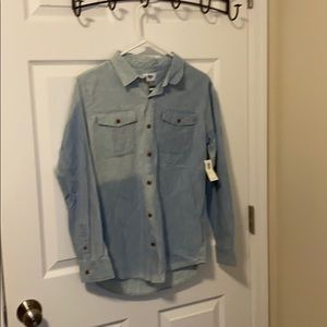 BNWT Old Navy Bleached Out YB button down